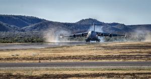 C-17 Touchdown